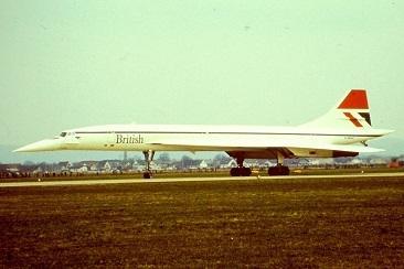 IAm-19-Marz-1981-die-British-Concorde-in-Graz-Thalerhof